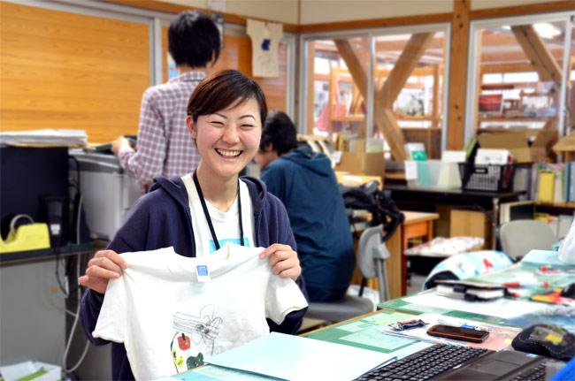 笑顔の素敵な西村さん