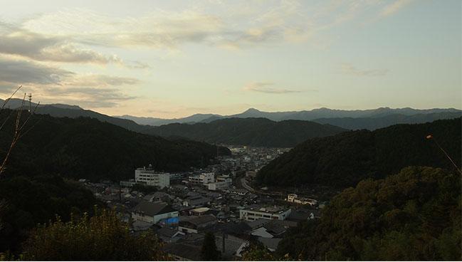 佐川町の風景