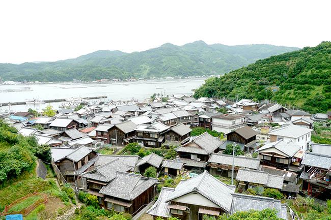 九島の住宅風景