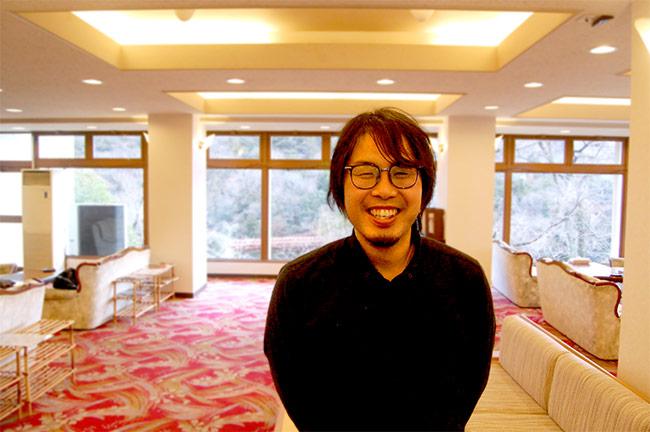合同会社萬屋マネジメントサービス ゲストホテル関ロッジ 館主 久保徹弥さん