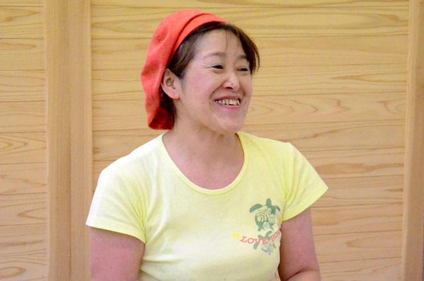 米米ハート代表 真辺由香さん