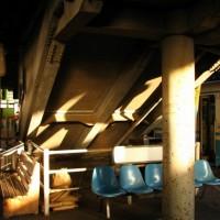 旧高知駅、最後の一日