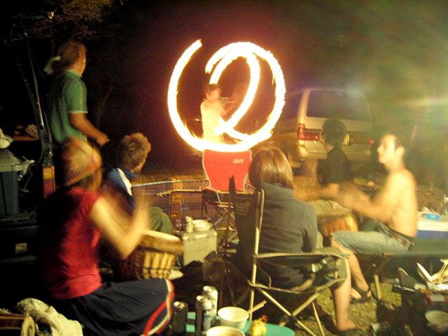 21火の遊び