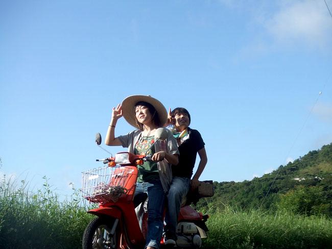 5原付バイクのノンヘル旅