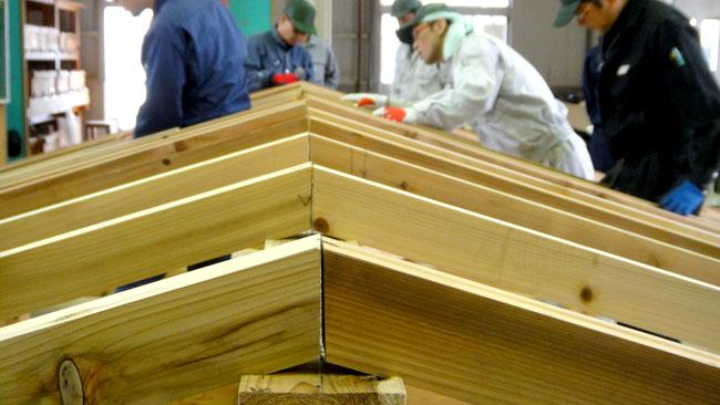 職業訓練 木造建築