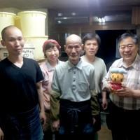 小泉武夫さんと井伊家族