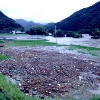 四万十川流域災害