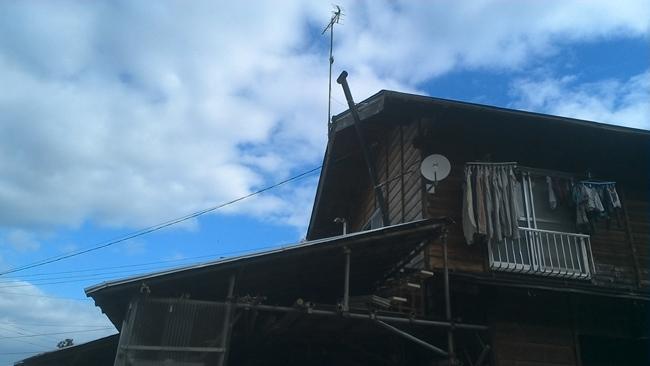 薪ストーブ煙突
