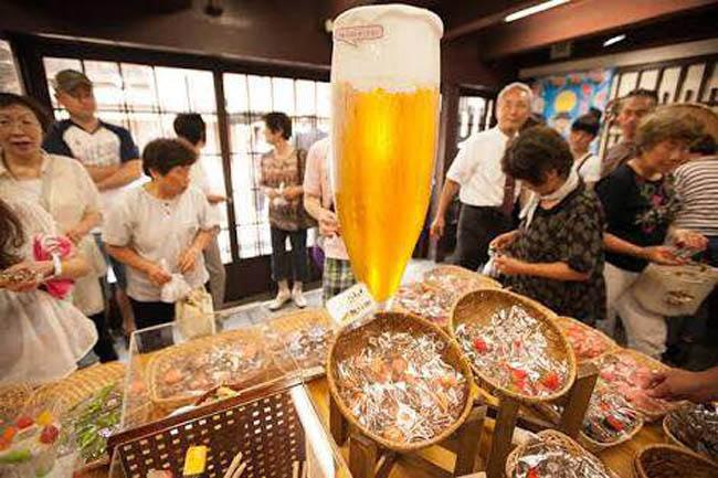 食品サンプルの生産量が日本一