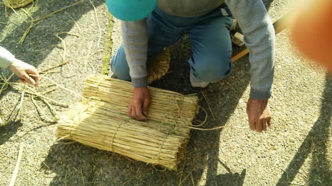 米俵の側面部