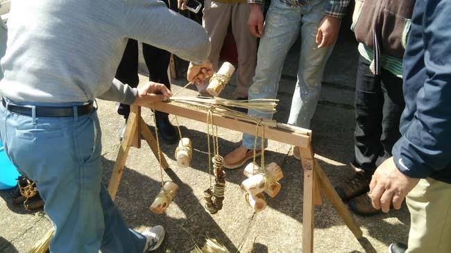 木の馬の道具
