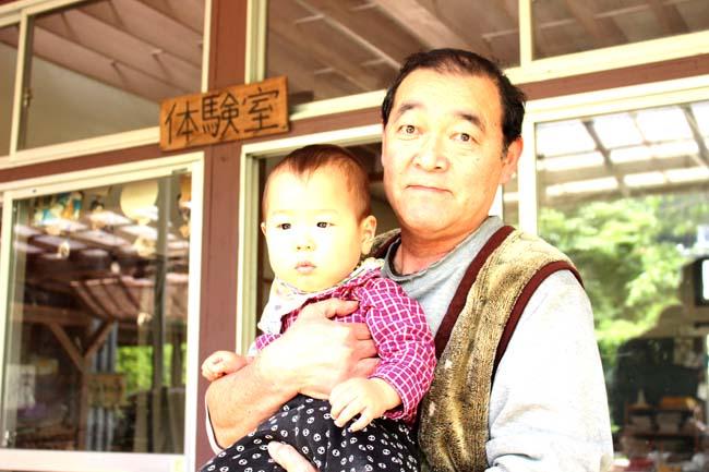 五十嵐先生と息子
