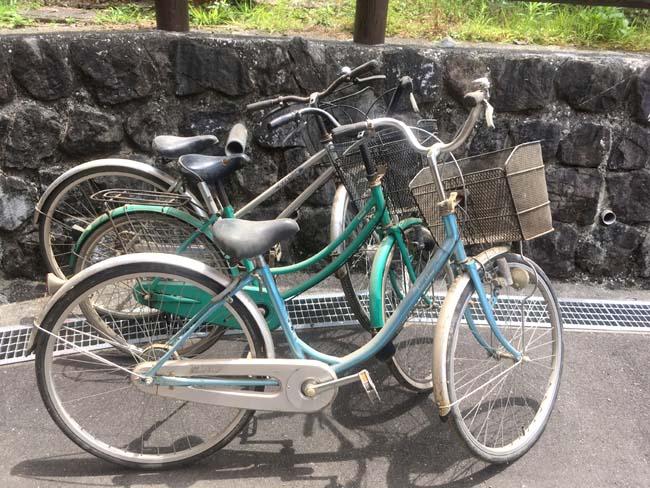 物々交換した自転車