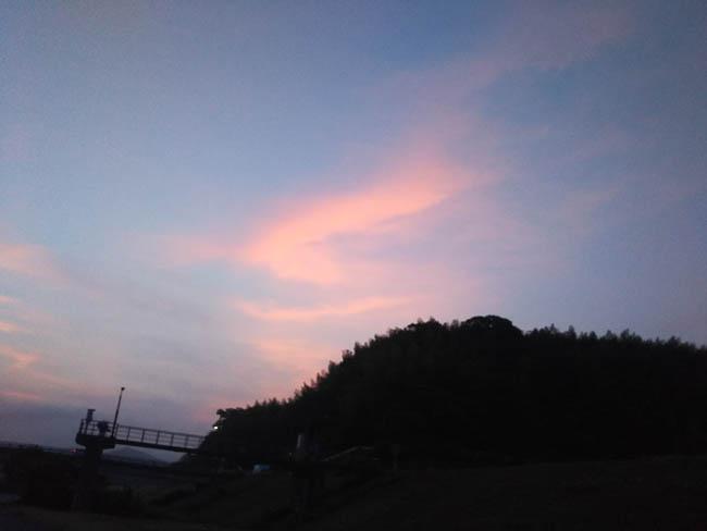 同じ空の日