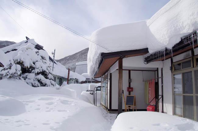 大雪の外観