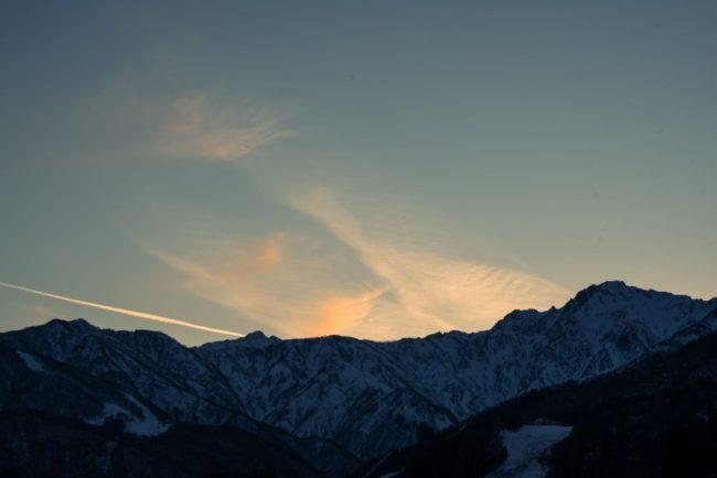 LODEC_旅と生業7_夕暮れの北アルプス