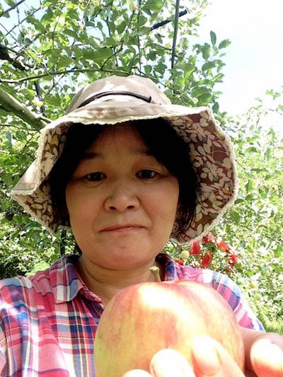 りんご収穫だよ