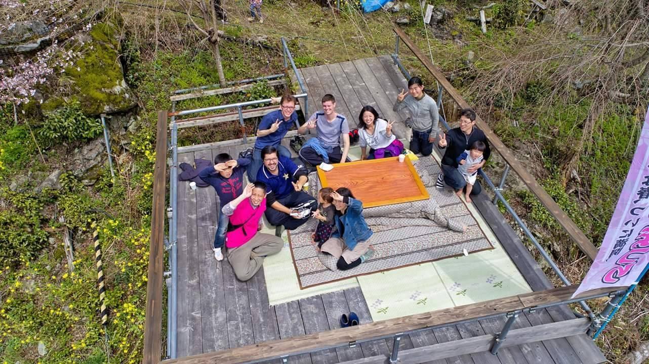 いなかインターンシップ受入先の「大川村集落活動センター 結いの里」