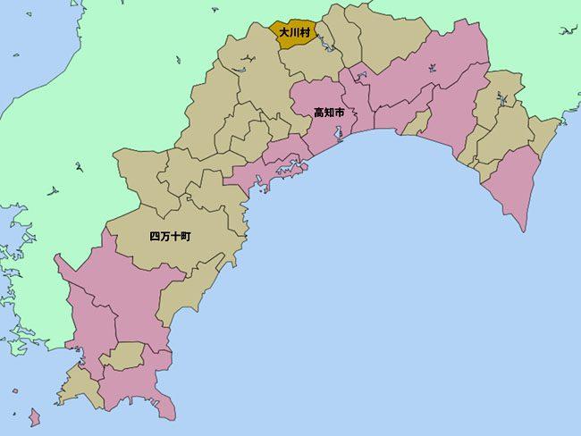 高知県全域マップ
