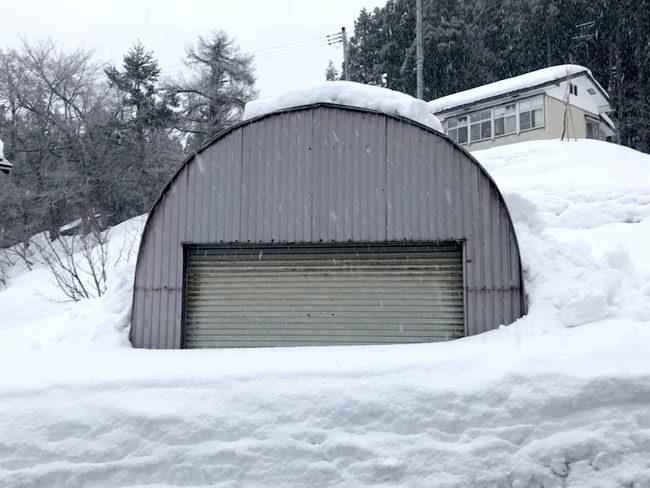 落下式屋根
