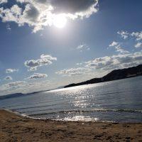 小豆島の海