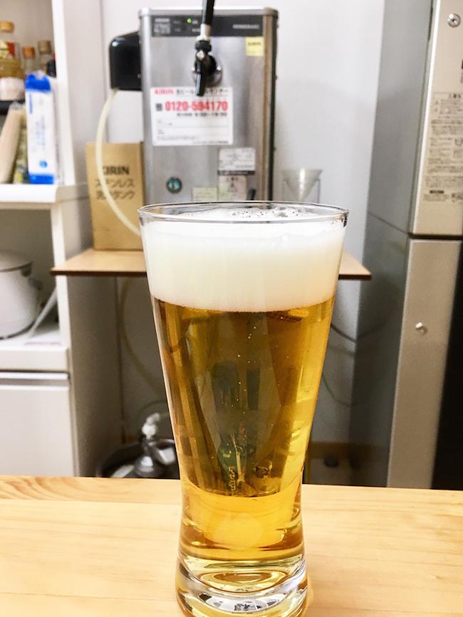 共有スペースにあるビールサーバー