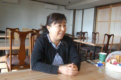 ゑびす屋 女将 本田麻也さん