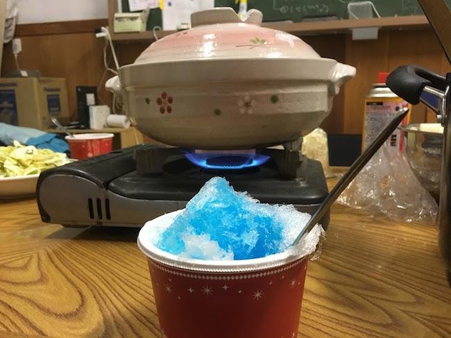 鍋とかき氷