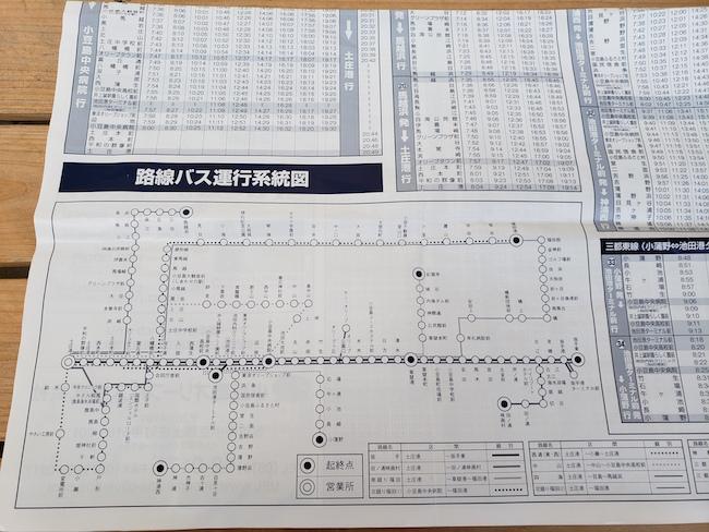 路線バス地図