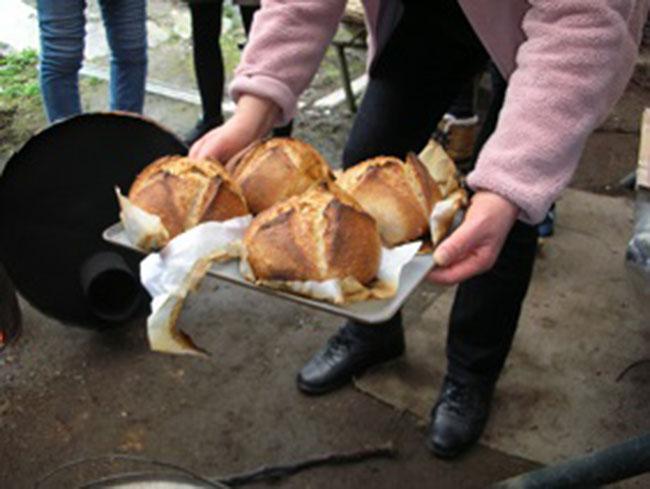 ドラム缶パン