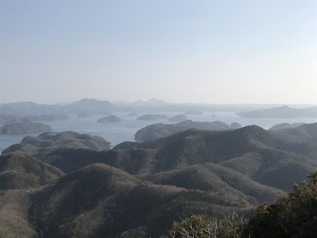烏帽子岳展望台