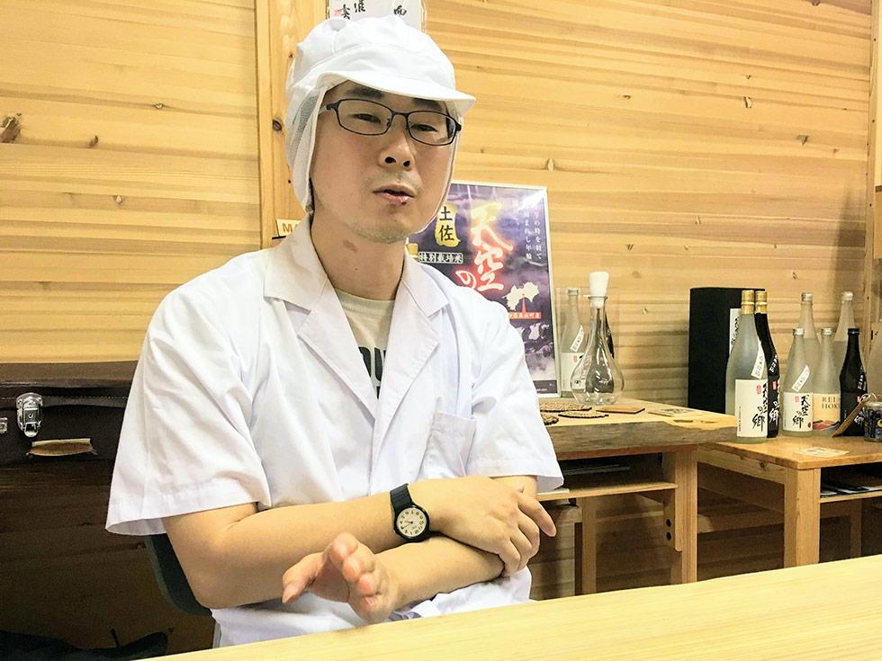 ばうむの酒造部門でのお仕事を始めた小泉さん