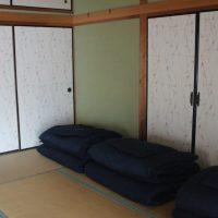 寝室の和室2部屋