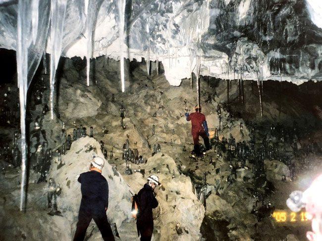 岩手の洞窟 内間木洞