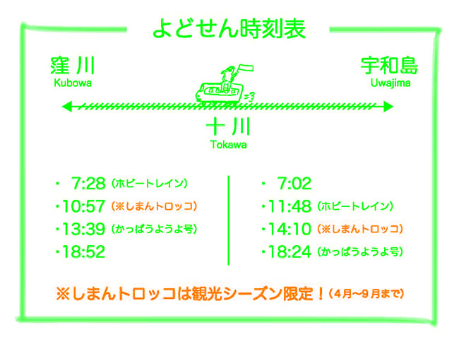 十川駅ダイヤ2021