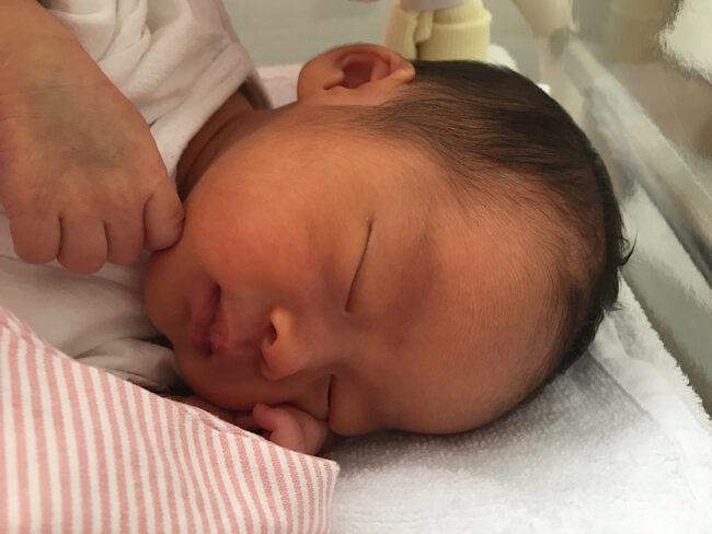 よく寝る赤ちゃん