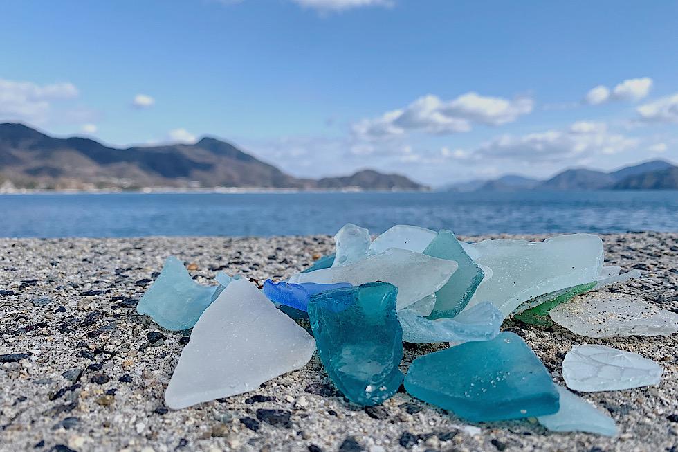 浜辺のシーグラス