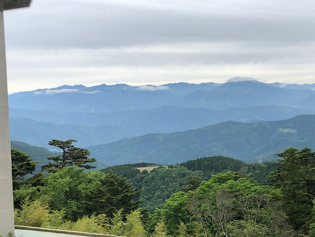 雲辺寺からの眺め