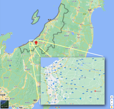 山のホムサ地図