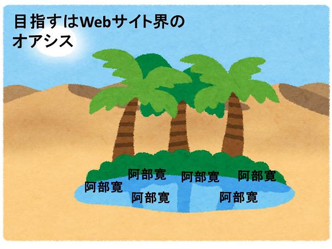 webサイト界のオアシス