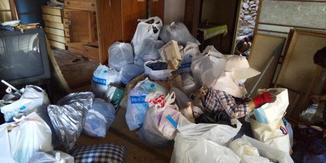 空き家のゴミ捨て